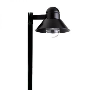 Poste Decorativo Chapéu Simples Bulbo Led