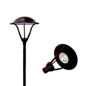 Poste de Ferro para Iluminação Decorativa